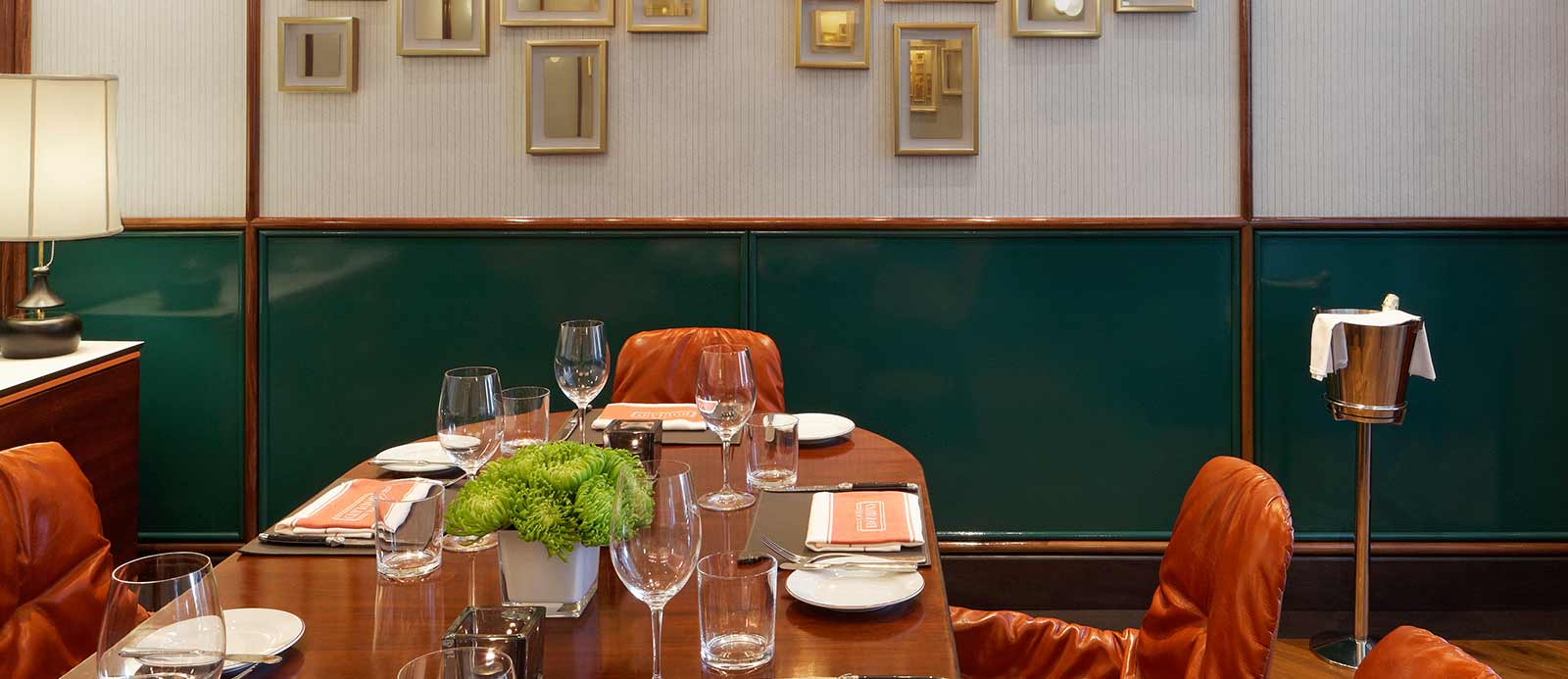 Good Semi Private Dining Room